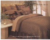Copper Brown Roundabout Comforter Mini Set