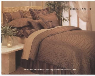 Copper Brown Roundabout Duvet 5 7 Pc Set American Home