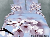 Fiori di mandorla 6PC Almond flower Duvet Cover Set