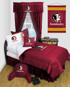 Florida State Seminoles Comforter Sheet Set Locker Room Bedding