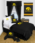 Iowa HawkeyesComforter Sheet Set Locker Room Bedding