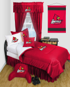 Louisville Cardinals Locker Room Sports Bedding Collection