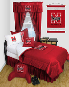 Nebraska Cornhuskers Locker Room Sports Bedding Collection