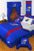 Kansas Jayhawks Sideline Room Sports Bedding Collection