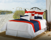 Red/White/Navy Lattitude Comforter/Duvet Cover Sets