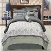 Shades of Gray Thomasville  11 PC Comforter Set
