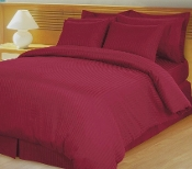 uxury 4-PC Egyptian Cotton Down Alternative comforter set: