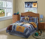 Construction Kids Bedding Quilt Set