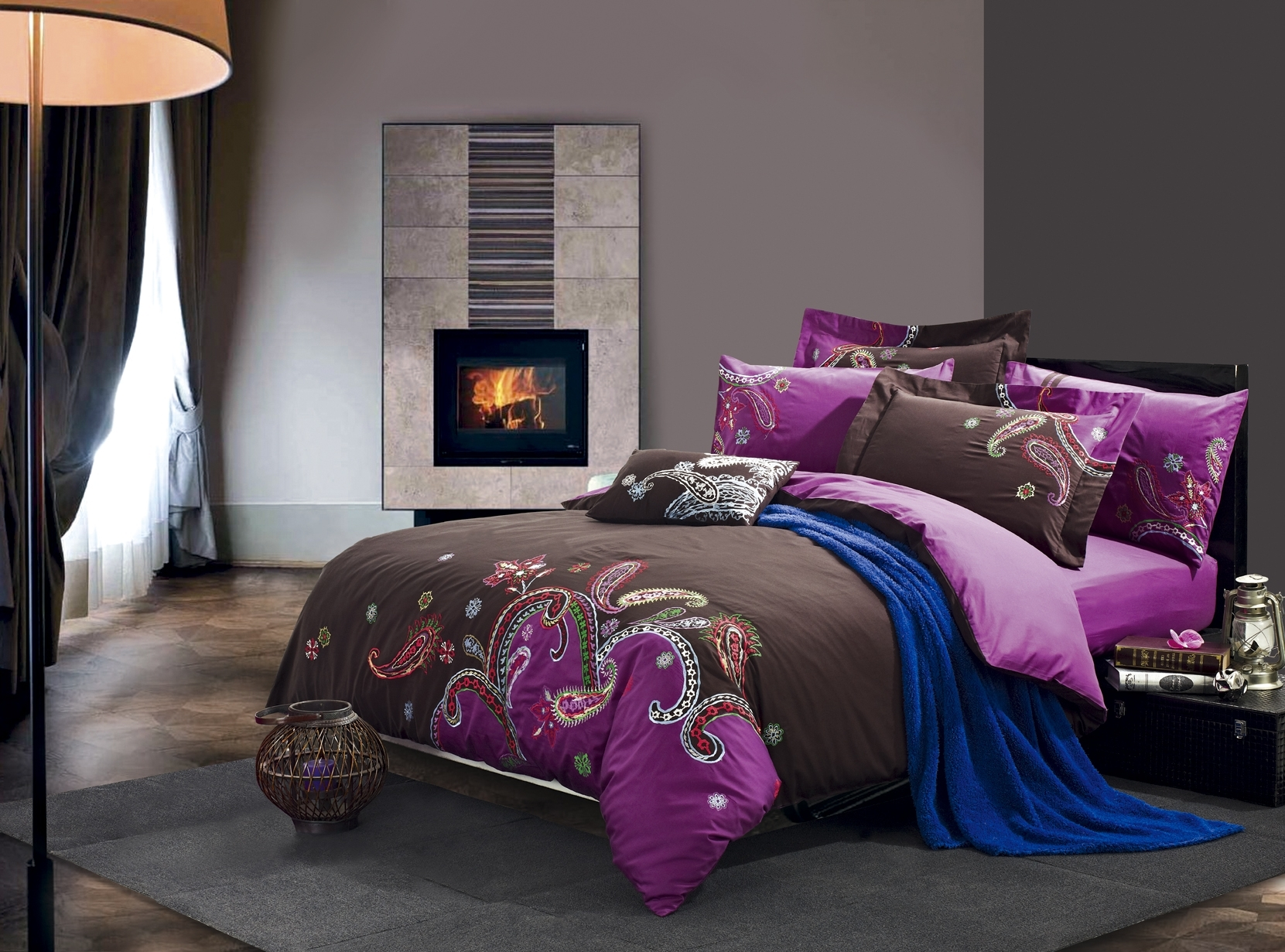 Brown and purple bedroom brown and purple bedroom brown and purple bedroom ideas brown and - Breathtaking images of purple and brown bedroom decorating design ideas ...