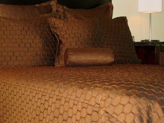 Copper Brown Roundabout Comforter 5 7 Pc Set By American