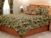 Green, Brown Kokomo Comforter Bedding