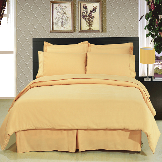 Gold 8 Piece Duvet Cover Set