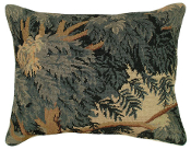Flemish Landscape Needlepoint Pillow
