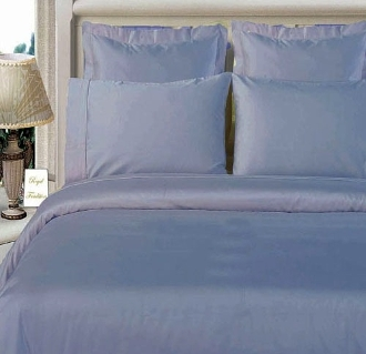 Light Blue Bamboo Duvet Cover Set