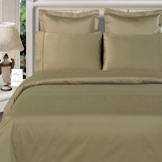 Sage-Green 100% Bamboo 4pc Comforter Cover Set