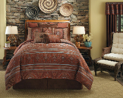 Veratex Pueblo Southwest Brown Comforter Set