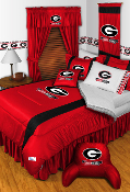 Georgia Bulldogs Comforter Sheet Set Sideline Room Bedding