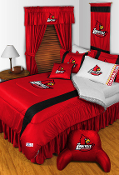 Louisville Cardinals Sideline Room Sports Bedding Collection
