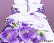 Purple Heaven 6PC Duvet Cover Set