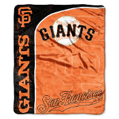 San Francisco Giants MLB Micro Raschel Blanket