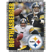 Pittsburgh Steelers Ben Roethlisberger #7 NFL Woven Tapestry