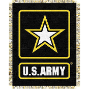 US Army MIL Triple Woven Jacquard Throw