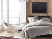 Corsica Linen Duvet Cover Collection by Peacock Alley