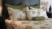 Green/Red Butterfly Duvet Cover Mini Set