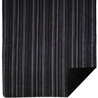 Purple Stripe Blanket/Throw by Denali