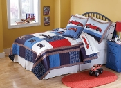 Cars Quilt Kids Bedding  Set