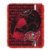 Tampa Bay Buccaneers NFL Triple Woven Jacquard Throw