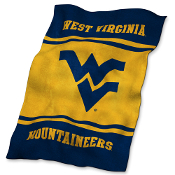 West Virginia Mountaineers NCAA Ultra Soft Fleece Throw Blanket