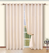 Ivory Heavy Cotton Drapes