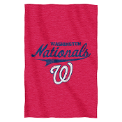 Washington Nationals MLB Sweatshirt Throw