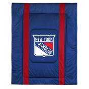 "New York Rangers NHL ""Sidelines Collection"" Bed Comforter"