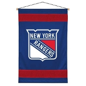 "New York Rangers NHL ""Sidelines Collection"" Wall Hanging"