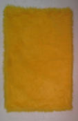 Flokati Yellow Rug