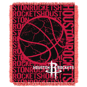 Houston Rockets NBA Triple Woven Jacquard Throw