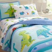 Olive Kids Dinosaur Land Bedding