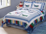 Fly Away Kids Bedding Quilt Set