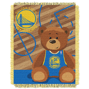 Golden State Warriors NBA Triple Woven Jacquard Throw