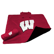 Wisconsin Badgers NCAA All Weather Blanket