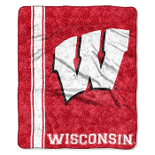 Wisconsin Badgers NCAA Sherpa Throw