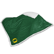 Oregon Ducks NCAA Soft Plush Sherpa Throw Blanket