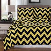 Chervon Duvet Cover Set