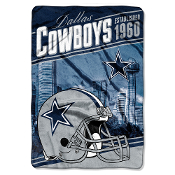 Dallas Cowboys NFL Stagger Oversized Micro Raschel
