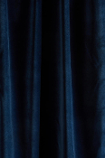 Indigo Velvet Drapes with Lining